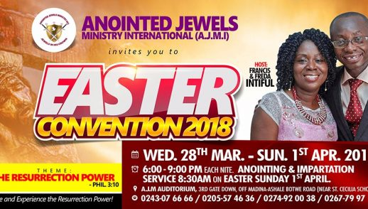 Easter-Convention-Day3-The Power in the Blood of Jesus By Rev. Francis Intiful