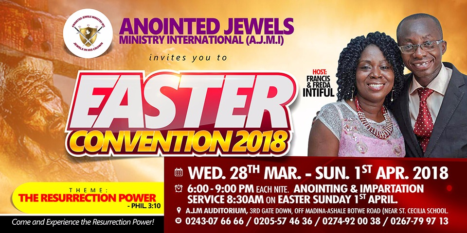 Easter-Convention-Day2-The Name Of Jesus By Rev. Francis Intiful