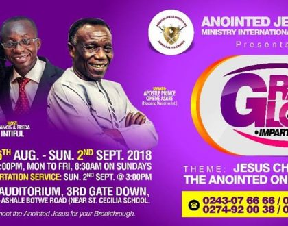 Annual Grace and Glory is Here Again (2018 edition)